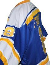 Robbie Ftorek Phoenix Roadrunners Retro Hockey Jersey New Blue Any Size image 3