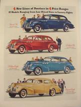 1940 Pontiac Special Six ~ Deluxe Six ~ DeLuxe Eight ~ Torpedo Eight Pri... - $9.99