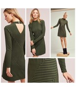 New Anthropologie Hutch Structured Lined Dress in Moss Green by Hutch $1... - $53.46
