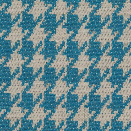 Camira Upholstery Fabric Century Blue Houndstooth Jute Wool 2.25 yds SCJ03 RM