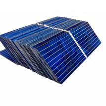 100PC Crystal Solar Panel Sun Cell Sunpower Solar Cell Polycrystalline S... - €12,29 EUR