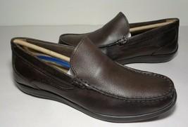 Florsheim Size 13 M CONLAN VENETIAN Brown Leather Loafers New Men's Shoes - $117.81