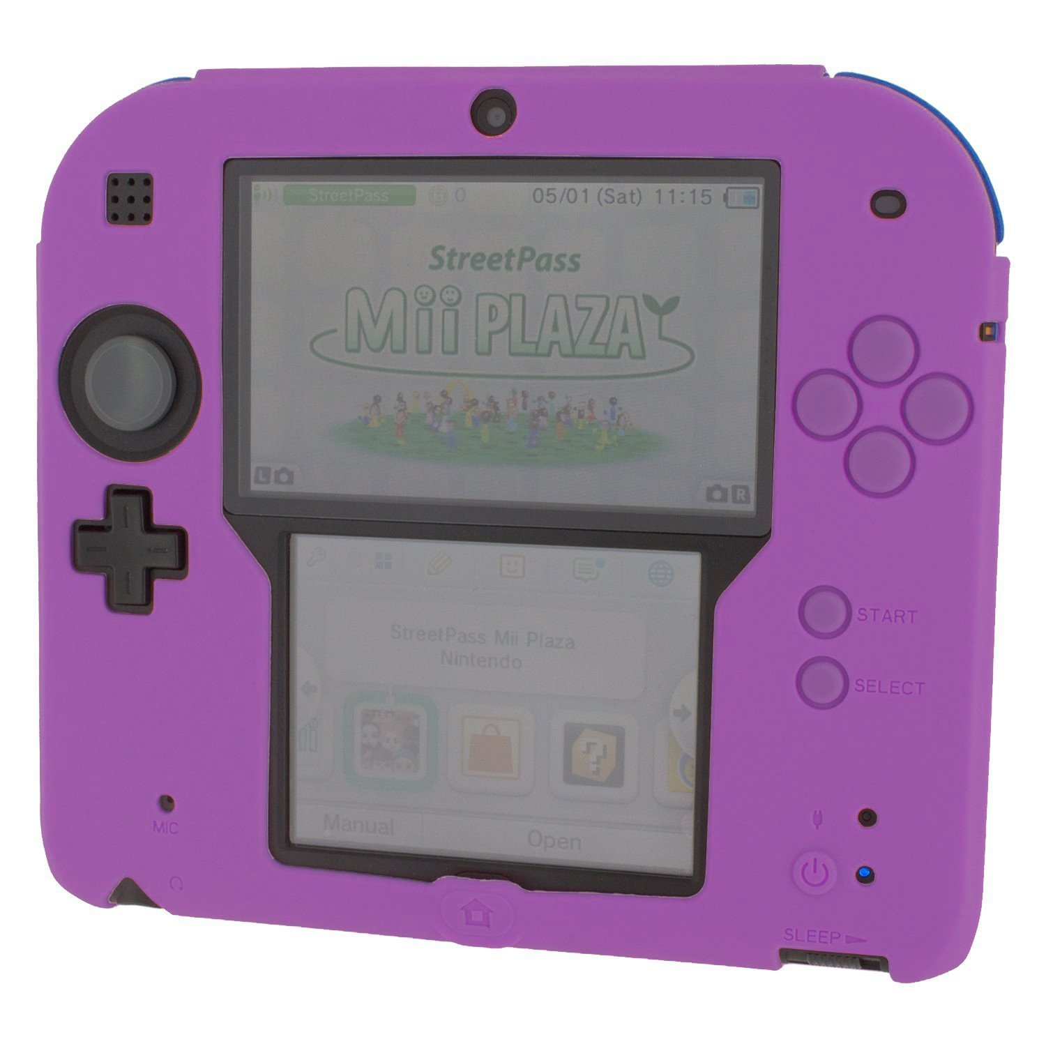 Primary image for ZedLabz soft silicone gel protective cover rubber bumper case for Nintendo 2DS -