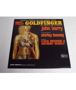 James Bond Goldfinger Soundtrack 1964 ORIGINAL Vintage Vinyl LP Record A... - $32.50