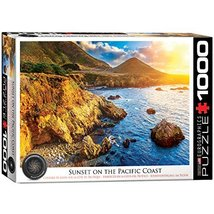 EuroGraphics Sunset on The Pacific Jigsaw Puzzle (1000-Piece) - $20.96