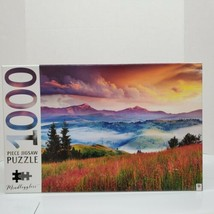 "Mindbogglers 1000 Piece ""Carpathian Mountains, Europe"" Landscape Jigsaw ... - $18.00"