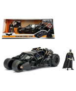 2008 The Dark Knight Tumbler with diecast Batman Figure 1/24 Diecast Mod... - $51.94