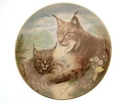Kensington The Wild Cats Lynx Plate GB60 - $31.99