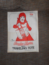 Tuesday Taylor Travelling Tote Ideal 1978 - $30.00