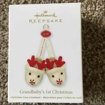 Hallmark Keepsake Grandbaby's 1st Christmas Ornament New In Box - $9.89