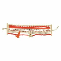Avon Tasseled Multi Layer Bracelet Bee - $13.99