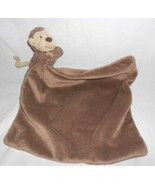 Jellycat Monkey Baby Security Blanket Lovey Brown Tan Unisex - $15.82