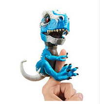 Action Figures & Statues WowWee Untamed T-Rex By Fingerlings Ironjaw (Blue) - $30.00