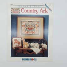 Dimensions Country Ark  Cross Stitch By Susan Winget Leaflet #219 - $2.97