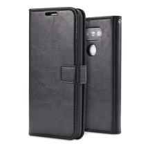 LG G5 Goosepery Case Leather Wallet Case Cover Book Card Slot Flip Stand Case - $10.37