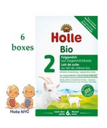 Holle Organic Goat Milk Formula Stage 2 400g FREE SHIPPING 6 BOXES 02/2020 - $153.95