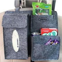 PANDA SUPERSTORE Multi-Pocket Travel Storage Bag Car Accessories Car Seat Organi image 2