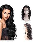 Body Wave 360 Frontal 16 Inch Pre Plucked Closure With Baby Hair All Aro... - $80.62