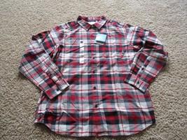 BNWT Columbia Vapor Ridge III Men's Long Sleeve Shirt, size L, 100% cotton, $50 - $25.00