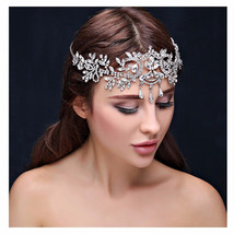 Crystal Tiara Hair Jewelry  at Bling Brides Bouquet online Bridal Store - $39.99