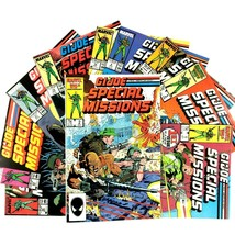 GI Joe Special Missions 10 Issue Comic Book Lot Marvel Roadblock Tunnel ... - $19.75