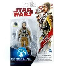 Star Wars Force Link The Last Jedi Resistance Gunner Paige 3.75-Inch Fig... - $9.99