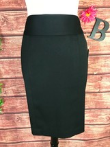 Anne Klein Skirt 6 Classic Black Straight Pencil Career Church Suit Prof... - $29.97