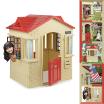 Durable Little Tikes Cape Cottage Outdoor Playhouse With Doors and Windo... - $168.30