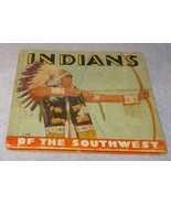 Native American Vintage Indians of the Southwest Children's book 1936 - $19.95