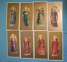 FRA ANGELICO Set of 8 INSTRUMENTAL ANGEL Art Prints - ready to frame - $74.79