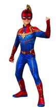 Rubies Captain Marvel Superhero Suit Movie Kids Child Halloween Costume ... - $43.86