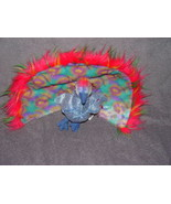 Ty Beanie Baby Flashy The Peacock Retired - $16.00
