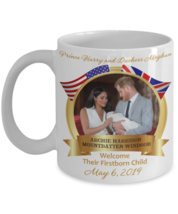 Baby Archie Prince Harry Meghan Markle Royal Birth Commemorative Coffee Mug Gift - $14.84+