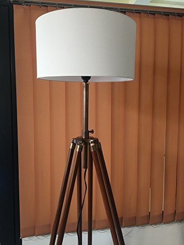 Primary image for Nautical Tripod Floor Lamp - Contemporary Design for Modern Living Rooms - Soft