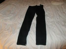 Guess , Size 29 , Black , Zipper Ankles , Zipper Back Pockets - $24.75