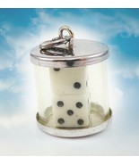 FREE W $99 REAL DICE PENDANT WINNING AMAZING LUCK WINS MAGNIFIER HIGHER ... - $0.00