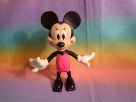2016 Mattel Disney Minnie Mouse Push Button Moveable Arms Figure - as is - $3.22