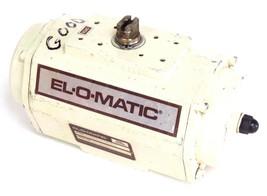 EL-O-MATIC ESN 100-4 PNEUMATIC VALVE ACTUATOR 120PSIG MAX, ESN1004