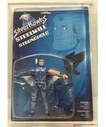 Graded 1987 Kenner SilverHawks Series 1 Steelwill w/ Stronghold - AFA 80... - $382.17