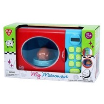 My Microwave Playset Real Working Pretend Kids Toy - $35.97