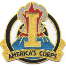 """3.25"""" 1ST Army Corps Distinctive Unit Embroidered Patch - $16.24"""