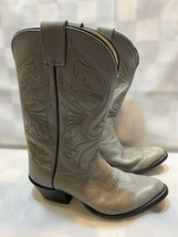 OLATHE Made in The USA Gray Cowboy Boots Men's Size 8 D - $39.59