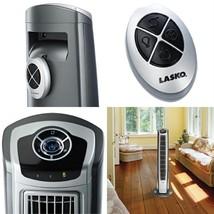 Lasko 40 Inch Hybrid 3 Speed Widespread Oscillating Tower Fan w/ Remote ... - $79.79