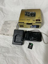 Fujifilm FinePix F Series F500EXR 16.0MP Digital Camera -Black *verygood/TESTED* - $56.99