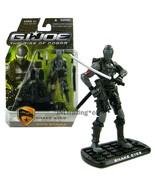 Yr 2009 G.I. JOE The Rise of Cobra 4 Inch Figure City Strike SNAKE EYES ... - $39.99
