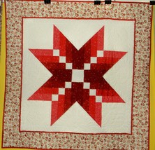 Red Star Quilt - $56.00