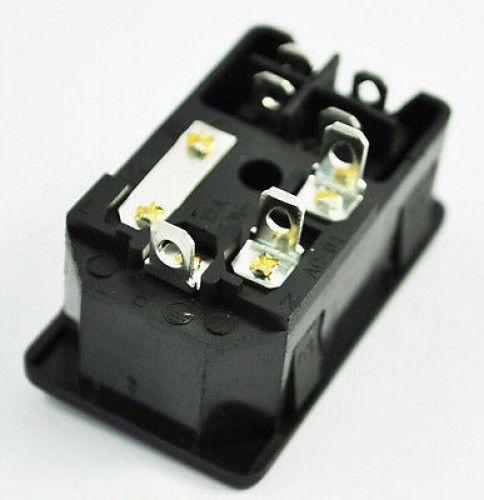 10A Sicherung! Red Rocker Switch Verschmolzen IEC320 C14 Inlet Steckdose Sich...