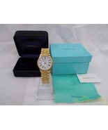 Tiffany Co. Portfolio Quartz 12187599 100Years Analog Watch - $679.24