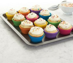 Abllore Silicone Cupcake/Muffin Liners - Reusable: 12 Pack  - $9.05