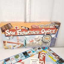 San Francisco-Opoly San FranciscoOpoly A California Monopoly Game Complete - $44.50